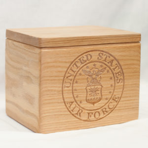 Wood Urn, burial urn, custom urn ,discount urn, Military urns