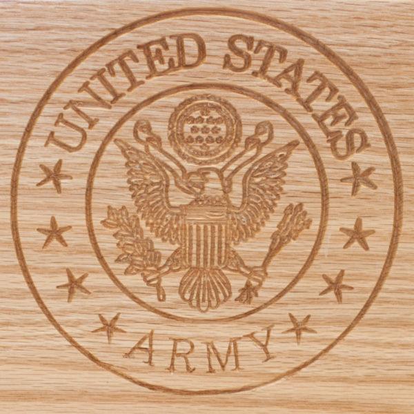 Wood Urn, burial urn, custom urn ,discount urn, Military urns